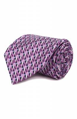 Шелковый галстук Zilli 50239/TIES