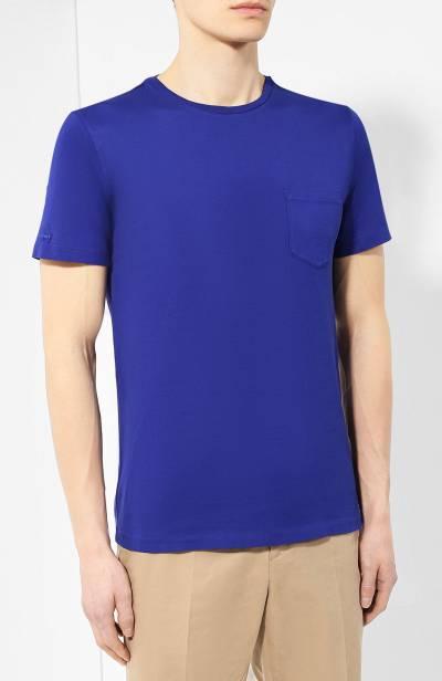 Хлопковая футболка Ralph Lauren 790687036 - 3