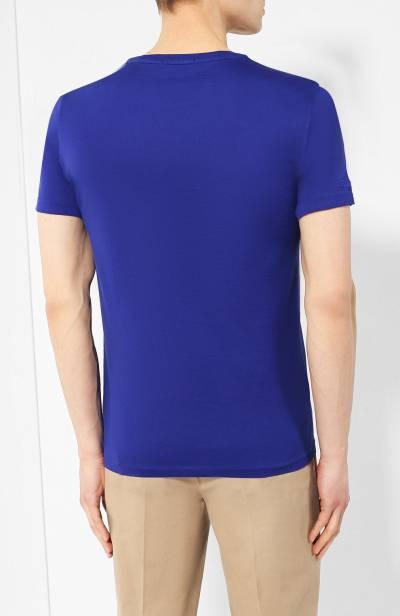 Хлопковая футболка Ralph Lauren 790687036 - 4