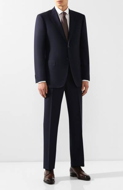 Шерстяной костюм Corneliani 847315C9817321/00 - 1