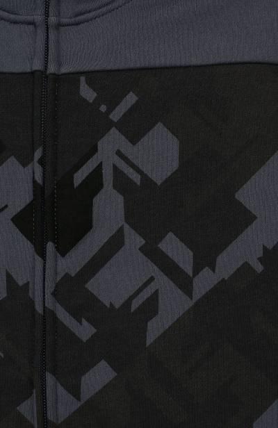 Хлопковая толстовка с капюшоном Ea7 6GBM58/BJ07Z - 3
