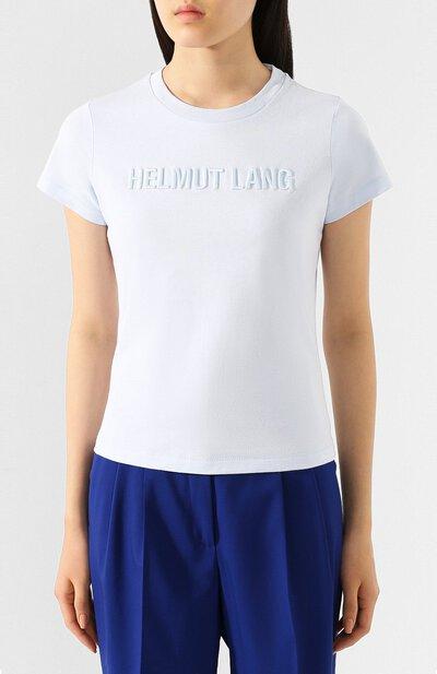 Хлопковая футболка Helmut Lang J06DW502 - 3