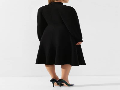 Платье из смеси шерсти и вискозы Givenchy BW20Q44Z56 - 4