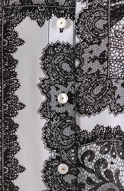 Рубашка из смеси вискозы и шелка By Malene Birger Q67963005/C0L0GNE - 5