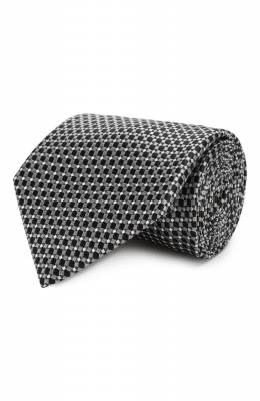 Шелковый галстук Brioni 062H00/08411