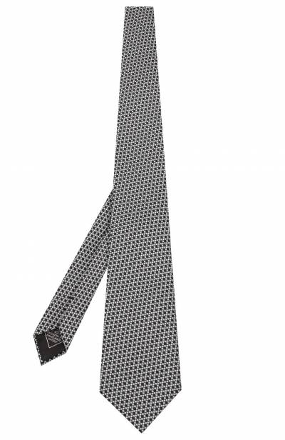 Шелковый галстук Brioni 062H00/08411 - 2