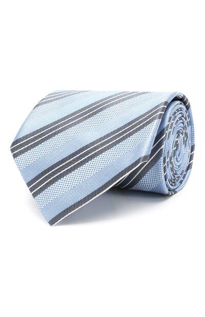 Шелковый галстук Brioni 062I00/P8417 - 1