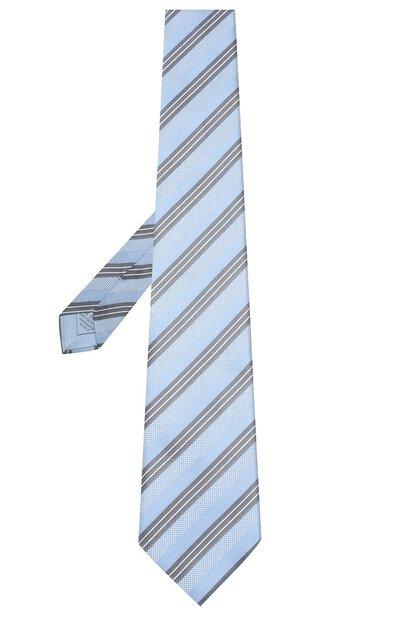 Шелковый галстук Brioni 062I00/P8417 - 2