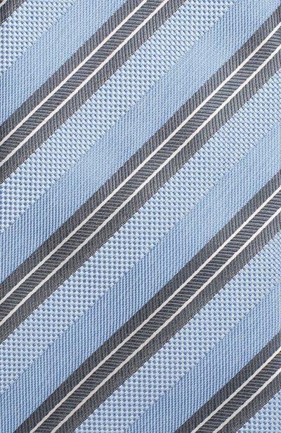 Шелковый галстук Brioni 062I00/P8417 - 3