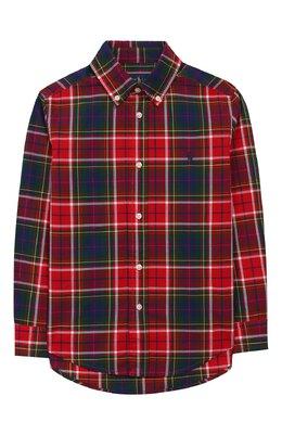 Хлопковая рубашка Ralph Lauren 322760798