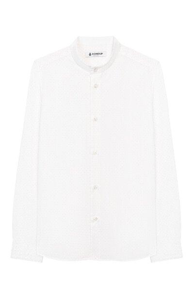 Хлопковая рубашка Dondup BC067/TY0004B/XXX - 1