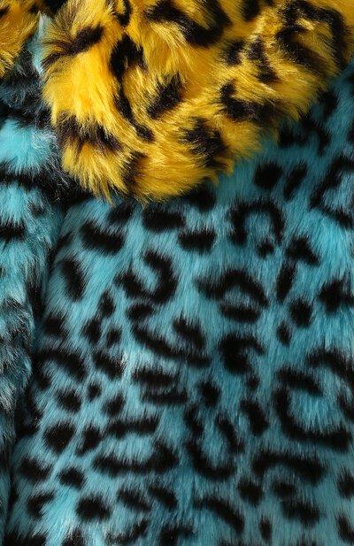 Шуба из экомеха Alice + Olivia CC907X01410 - 5