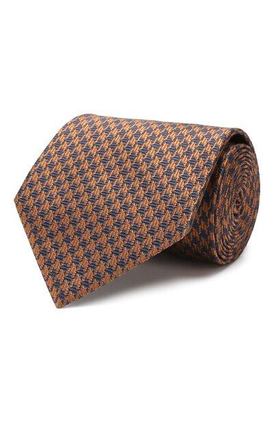 Шелковый галстук Brioni 062I00/08492 - 1