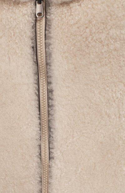 Двусторонний жилет с капюшоном Brunello Cucinelli BPMWE8769B - 5