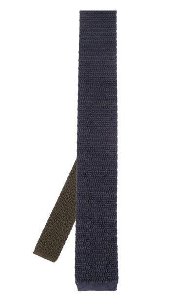 Шелковый вязаный галстук Brioni 090B/P645W - 2