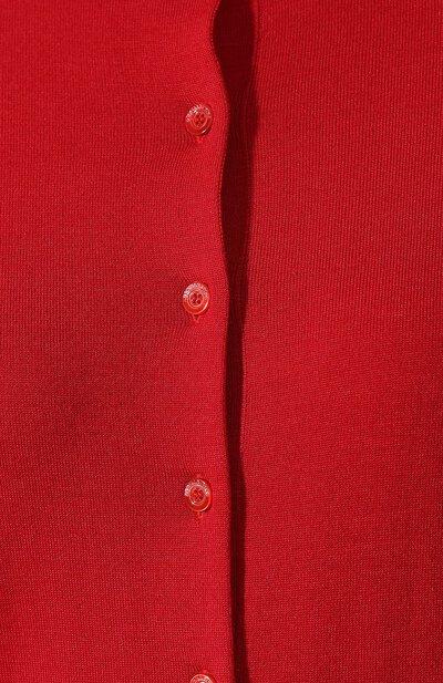 Кардиган из смеси шерсти и шелка Red Valentino SR0KA00V/4A7 - 5