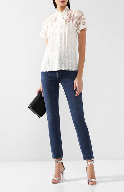 Кружевная блузка Bottega Veneta 546070/VEP00 - 2