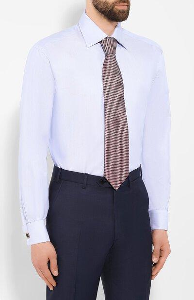 Хлопковая сорочка Brioni RCLU16/0804L - 4