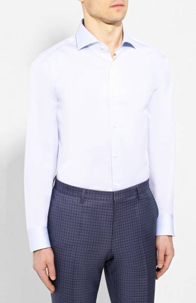 Хлопковая сорочка Boss by Hugo Boss 50410701 - 3