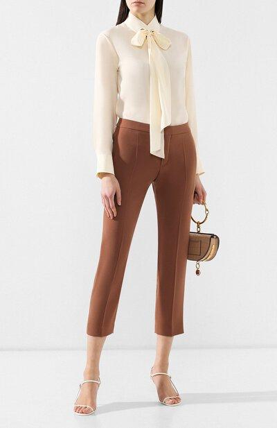 Укороченные брюки Chloe CHC19SPA03137 - 2