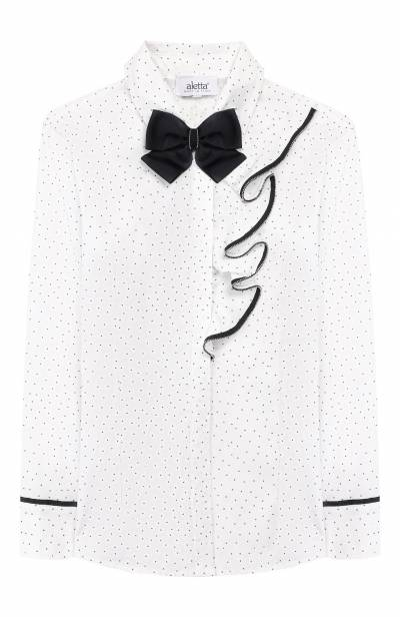 Хлопковая блузка Aletta AC999312ML/4A-8A - 1