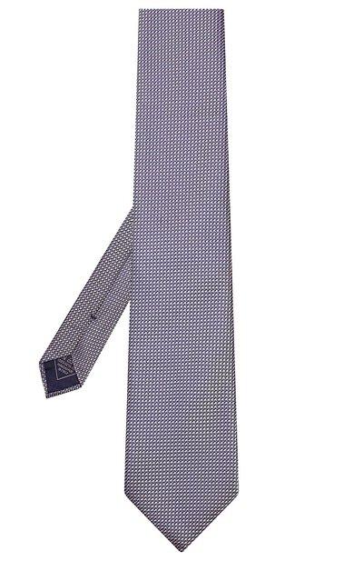 Шелковый галстук Brioni 062I00/P8435 - 2