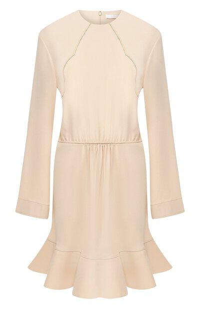 Платье с оборкой Chloe CHC19SR069137 - 1