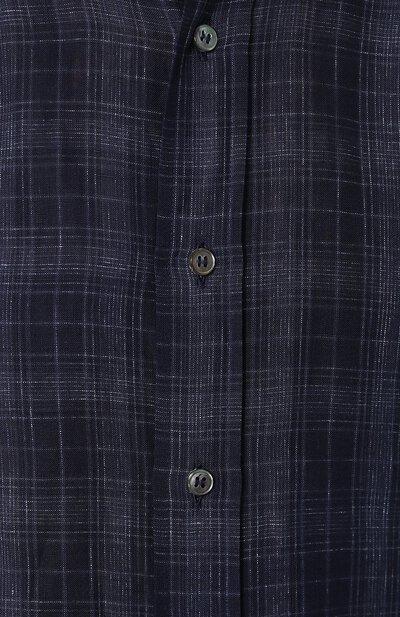 Хлопковая рубашка с воротником button down Brioni SC020Q/P7139 - 5
