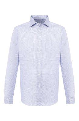 Хлопковая сорочка с воротником кент Brioni RCL019/P805R