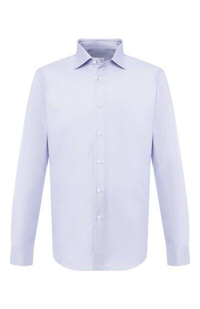Хлопковая сорочка с воротником кент Brioni RCL019/P805R - 1