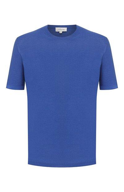 Шелковая футболка Brioni UMR00L/P8K08 - 1