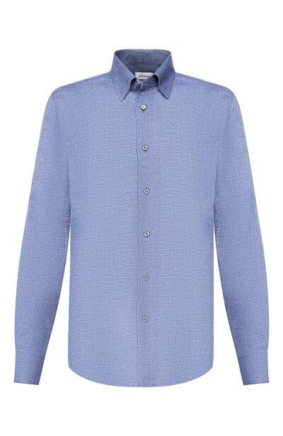 Льняная рубашка Brioni SCAD0L/PZ114 - 1