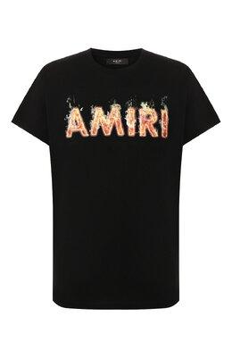 Хлопковая футболка Amiri F9M03111CJ