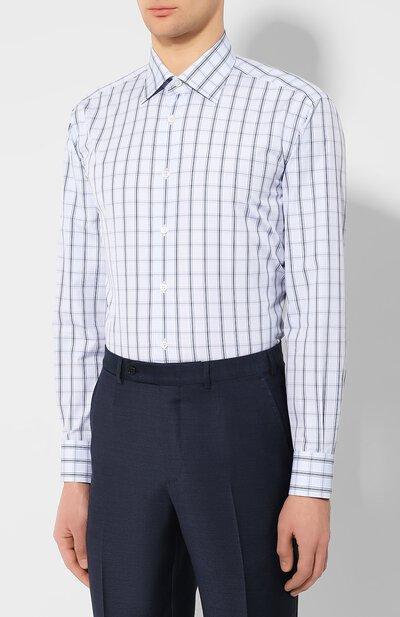 Хлопковая сорочка Brioni RCLU1R/P90A3 - 3