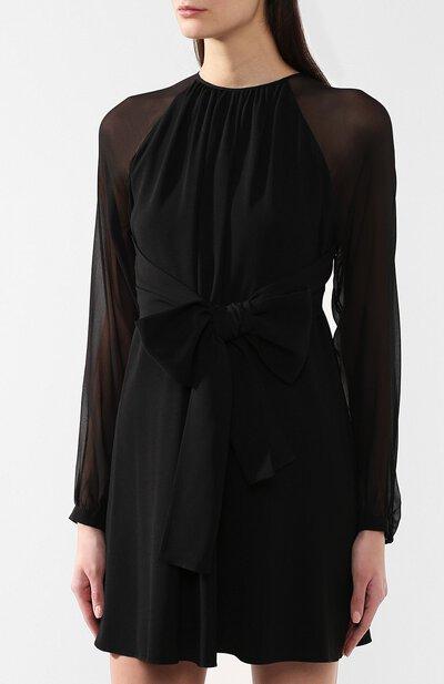 Платье с поясом Saint Laurent 545344/Y117W - 3