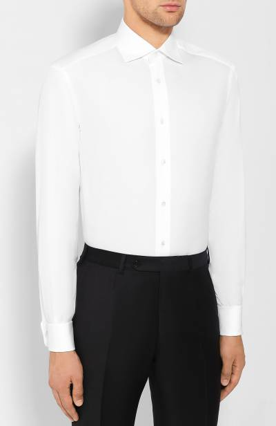 Хлопковая сорочка Brioni RCL4/PZ001 - 3