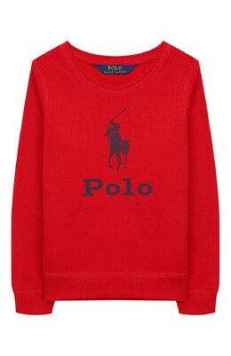 Хлопковый свитшот Polo Ralph Lauren 311752411