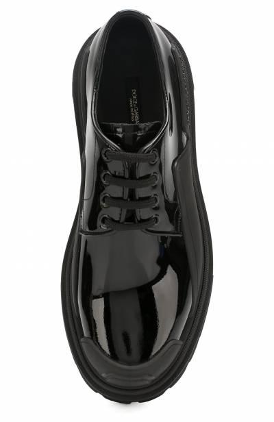 Кожаные дерби Trekking Dolce&Gabbana CK1700/A1471 - 5