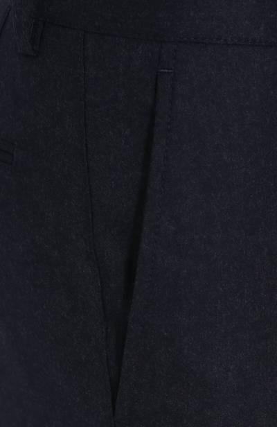 Шерстяные брюки прямого кроя Brunello Cucinelli ME226B1050 - 5