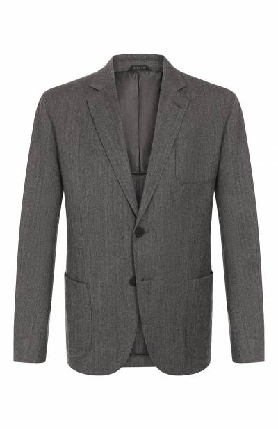 Шерстяной пиджак Giorgio Armani 8WGGG02B/T018Z - 1