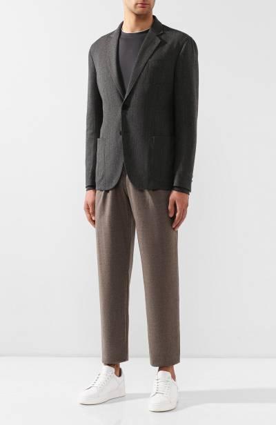 Шерстяной пиджак Giorgio Armani 8WGGG02B/T018Z - 2