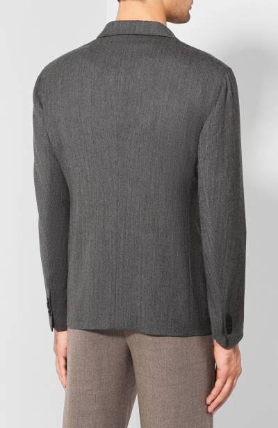 Шерстяной пиджак Giorgio Armani 8WGGG02B/T018Z - 4