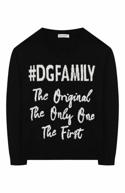 Шерстяной пуловер Dolce&Gabbana L4KW31/JAV0D/8-14 - 1