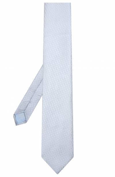 Шелковый галстук Brioni 062I00/P8410 - 2