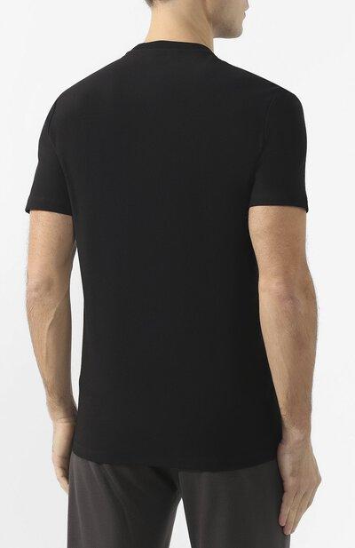 Хлопковая футболка Zegna Couture CUCJ04/7UJ02 - 4