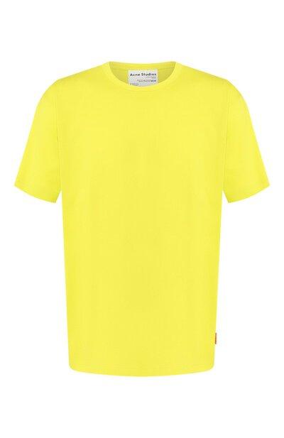 Хлопковая футболка Acne Studios BL0176/M - 1
