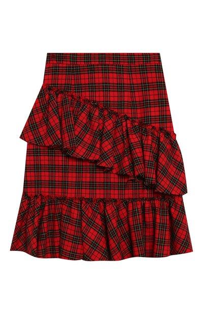 Хлопковая юбка Philosophy Di Lorenzo Serafini Kids PJG007/CQ281/UHUNI/L-XL - 2