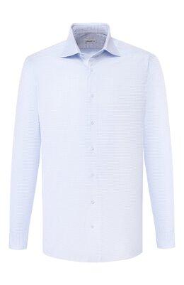 Хлопковая сорочка с воротником кент Zilli MFQ-MERCU-30106/RZ01