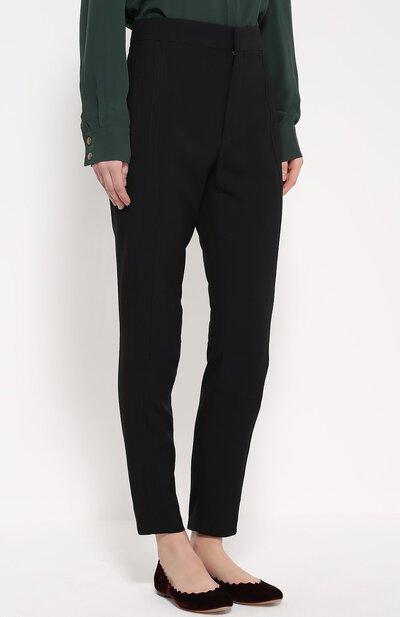 Укороченные брюки прямого кроя с завышенной талией Chloe 16HPA15/16H237 - 3