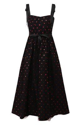 Платье-миди Red Valentino SR3VA03L/4CJ